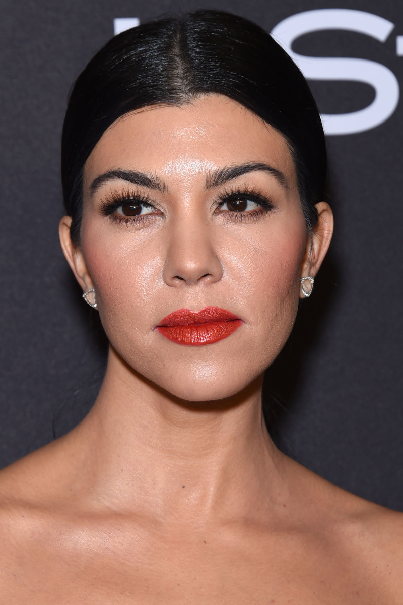 Kourtney Kardashian, Golden Globes InStyle and Warner Bros. After-Party, 2016