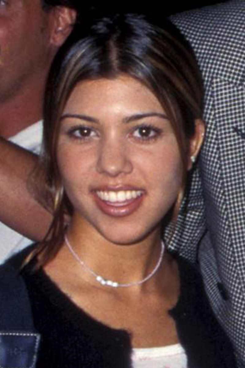 Kourtney Kardashian Before And After From 1995 To 2018 The