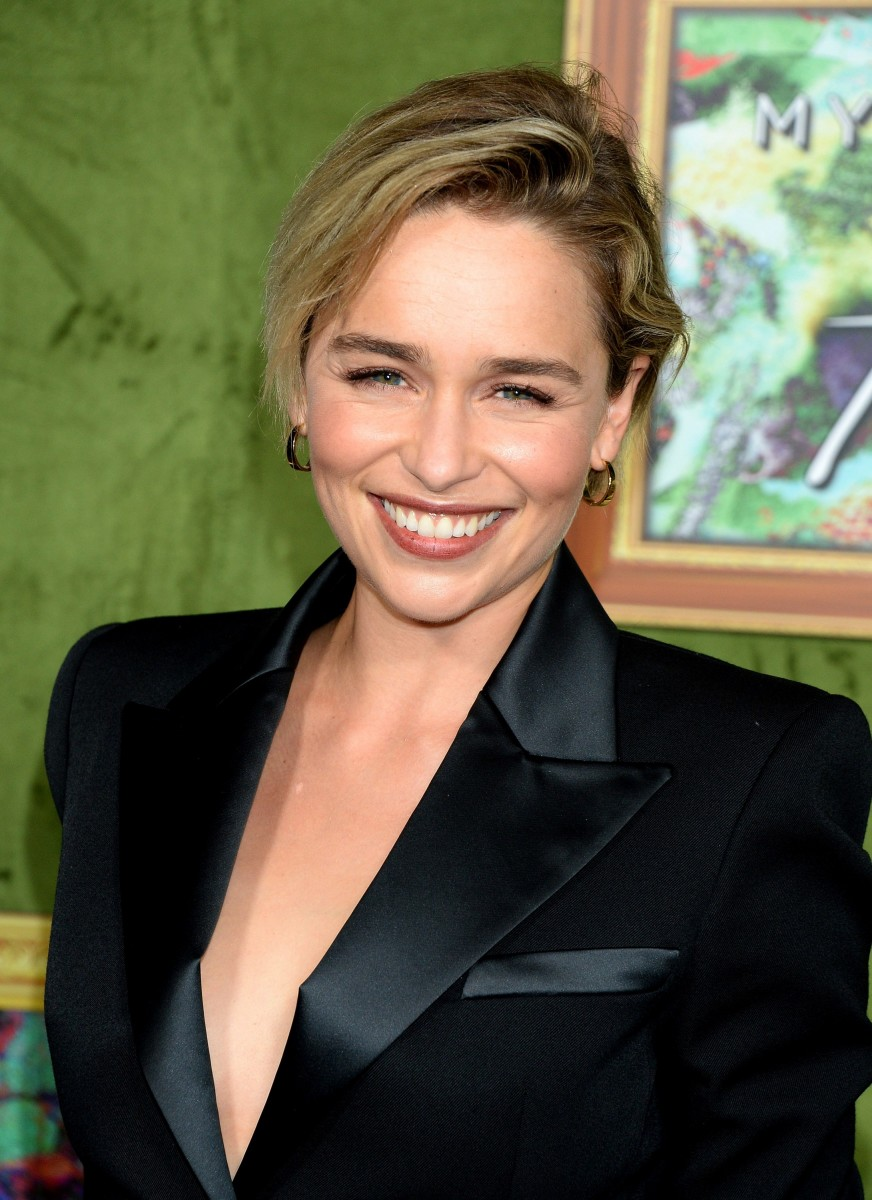 Emilia Clarke, My Dinner with Herve premiere, 2018