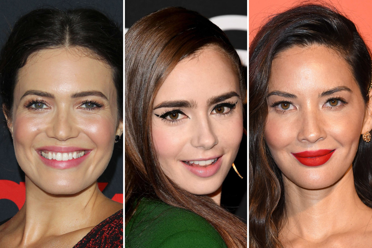 Mandy Moore, Lily Collins, Olivia Munn