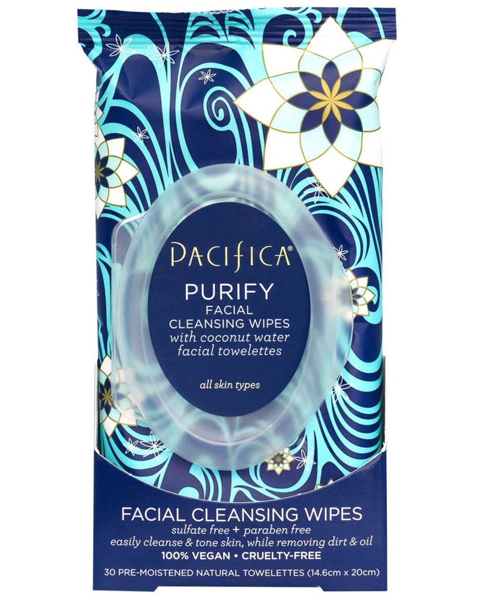 Pacifica Purify Facial Cleansing Wipes with Coconut Water