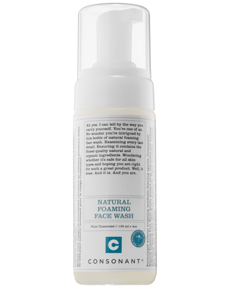 Consonant Natural Foaming Face Wash