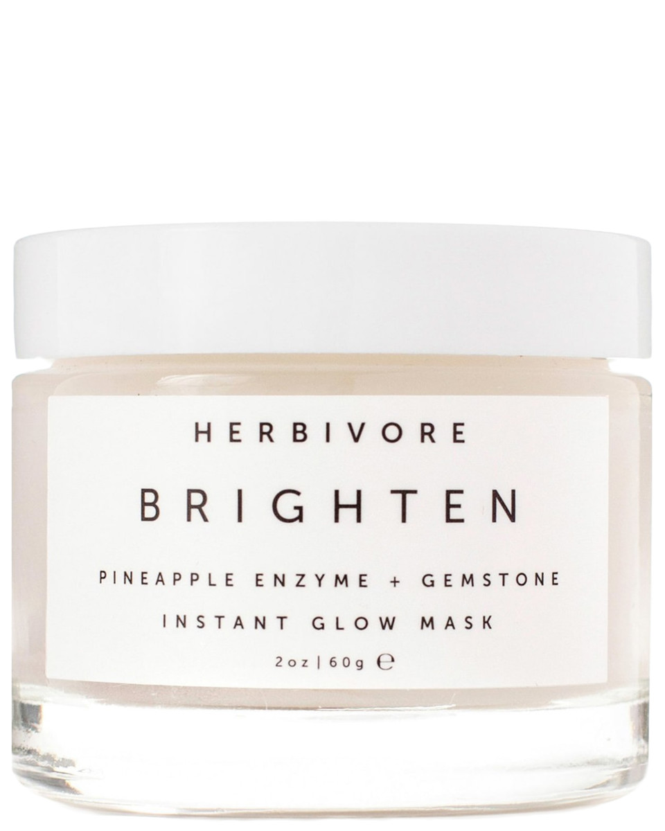 Herbivore Brighten Pineapple Enzyme and Gemstone Instant Glow Mask