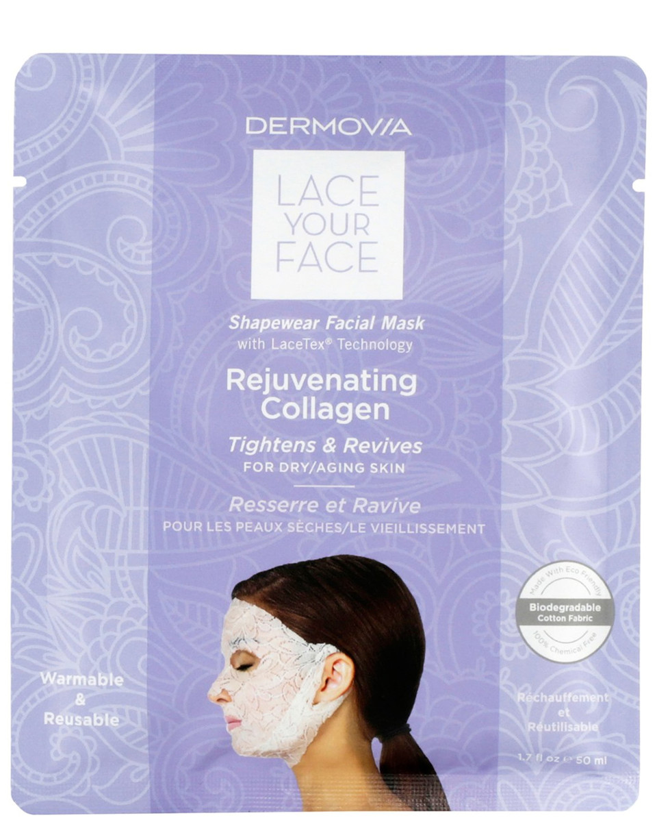 Dermovia Lace Your Face Rejuvenating Collagen Shapewear Facial Mask