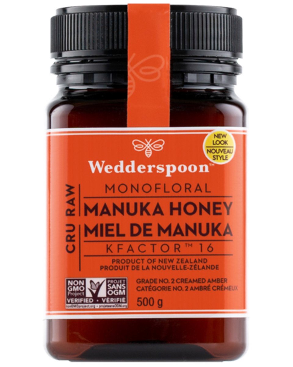 Wedderspoon Raw Monofloral Manuka Honey KFactor 16