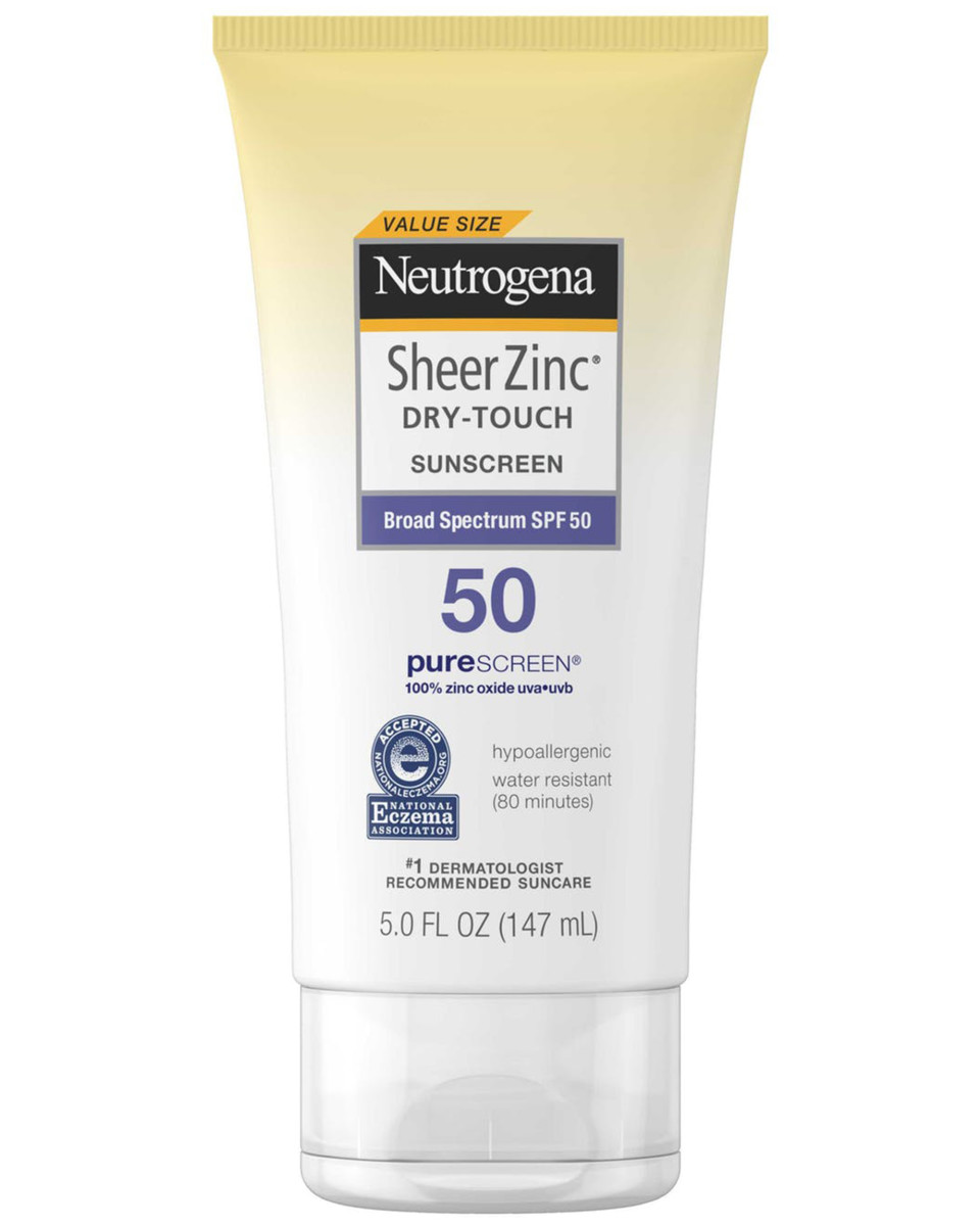 Neutrogena Sheer Zinc Dry-Touch Sunscreen SPF 50