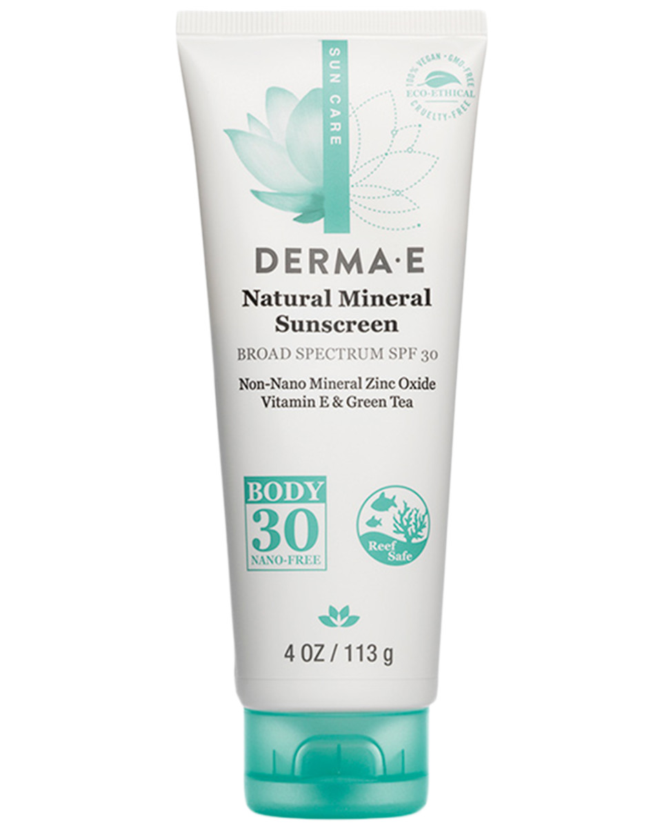 Derma E Sun Defense Natural Mineral Sunscreen SPF 30 Body