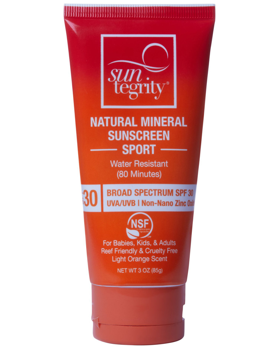 Suntegrity Natural Mineral Sunscreen Sport SPF 30
