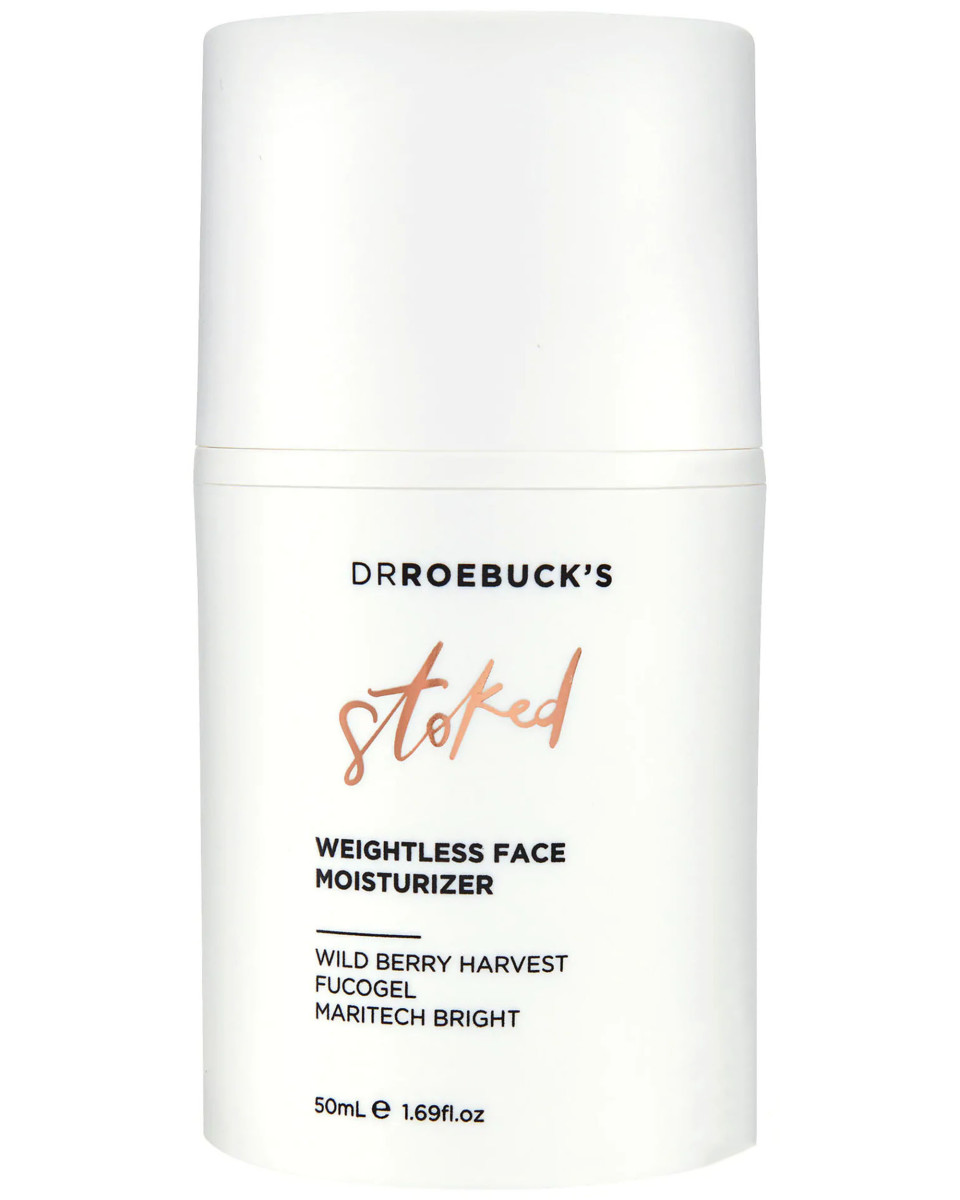 Dr Roebuck's Stoked Weightless Face Moisturizer