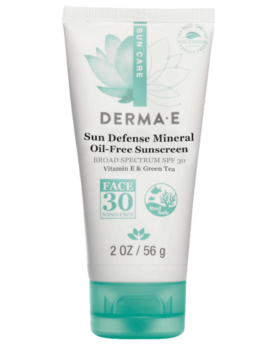 Derma E Sun Defense Mineral Oil-Free Sunscreen SPF 30 Face