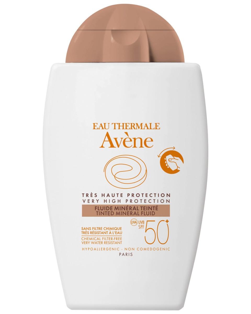 Avene Tinted Mineral Fluid SPF 50