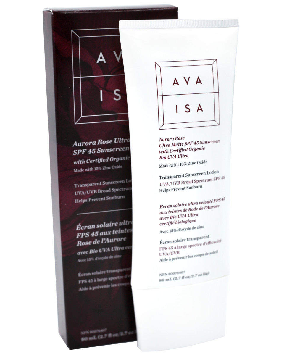 Ava Isa Aurora Rose Ultra Matte SPF 45 Sunscreen