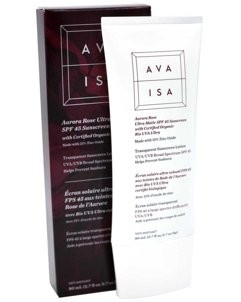 Ava Isa Aurora Rose Ultra Matte SPF 45 Sunscreen