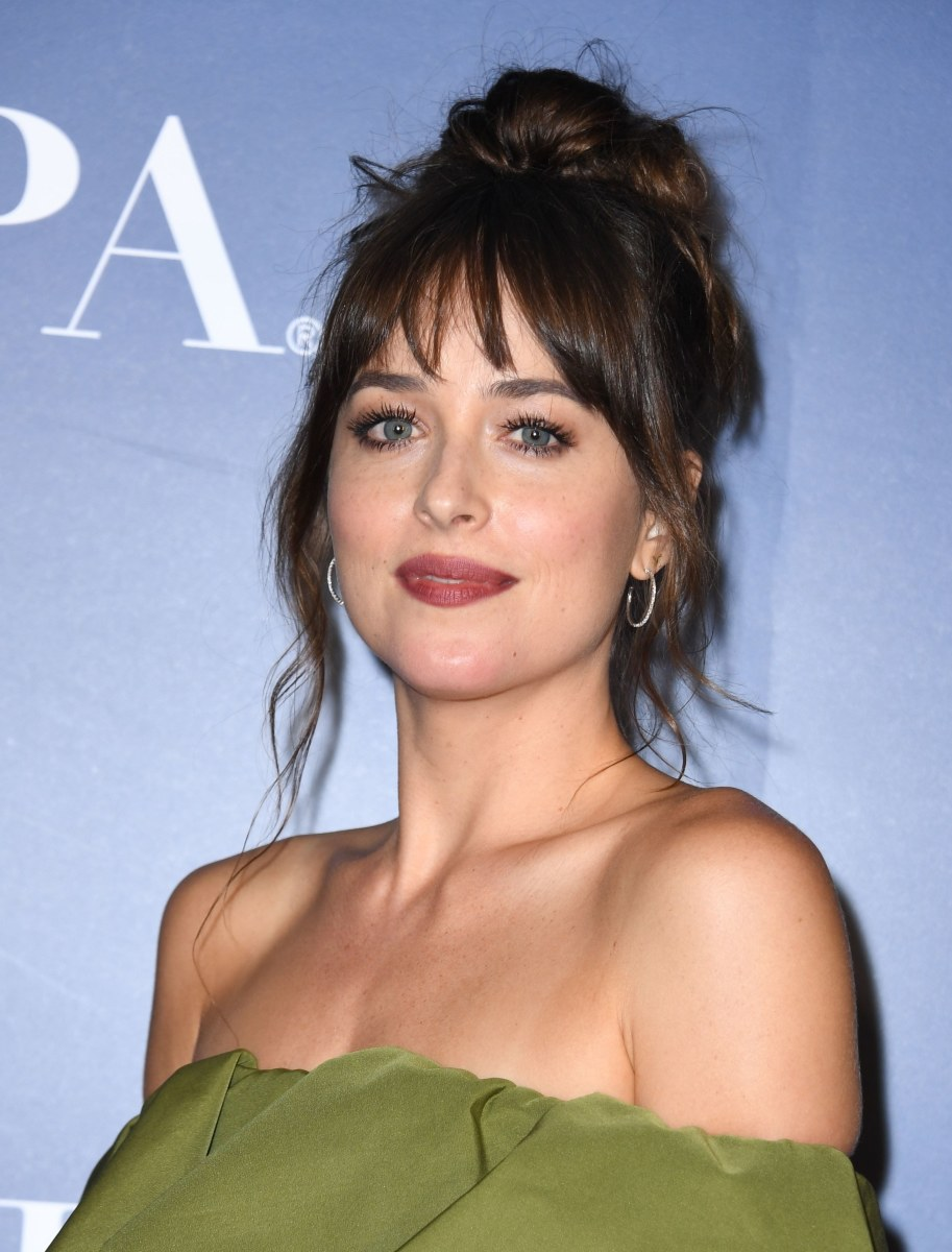 Dakota Johnson HFPA and Hollywood Reporter TIFF party 2019
