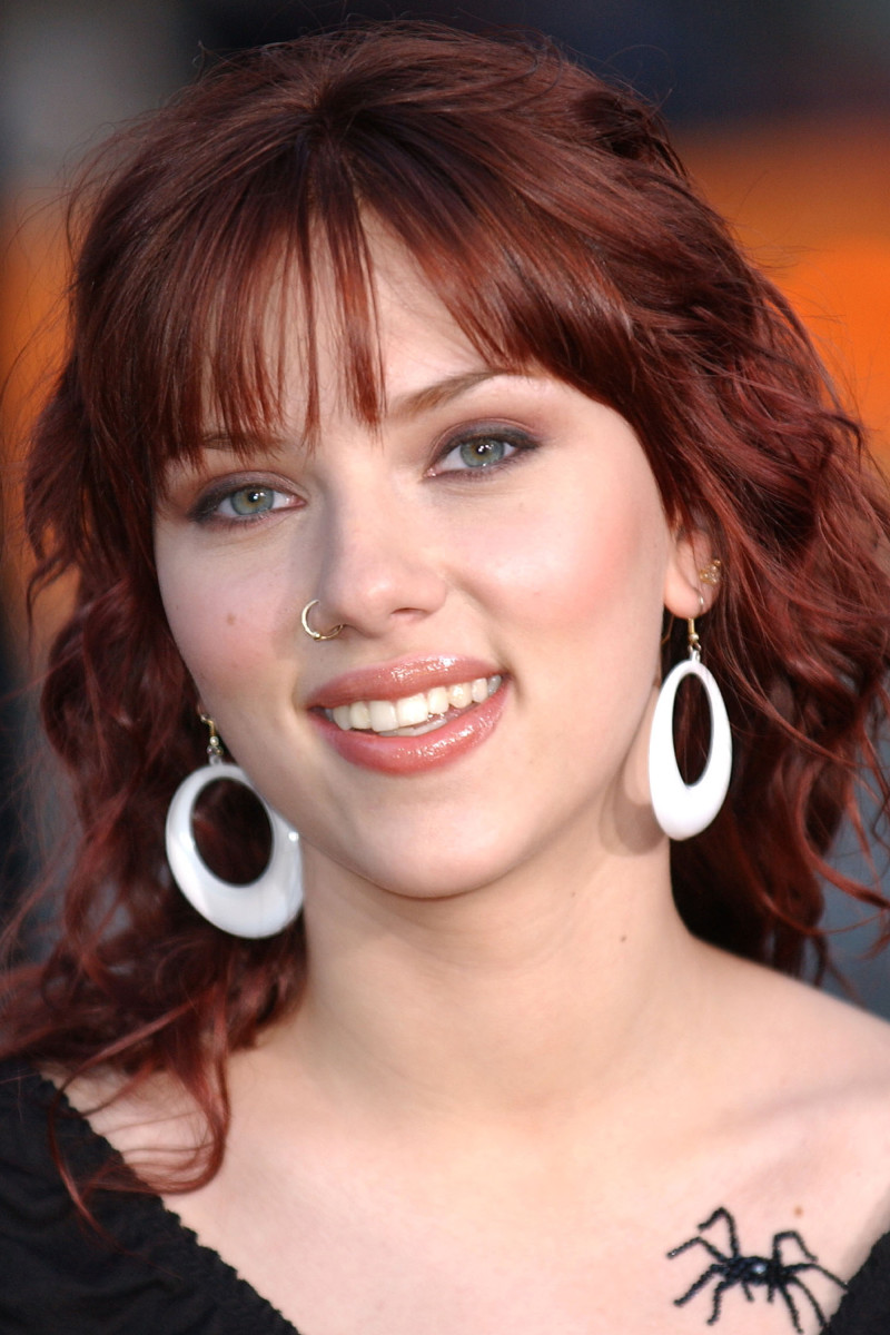 Scarlett Johansson Eight Legged Freaks premiere 2002