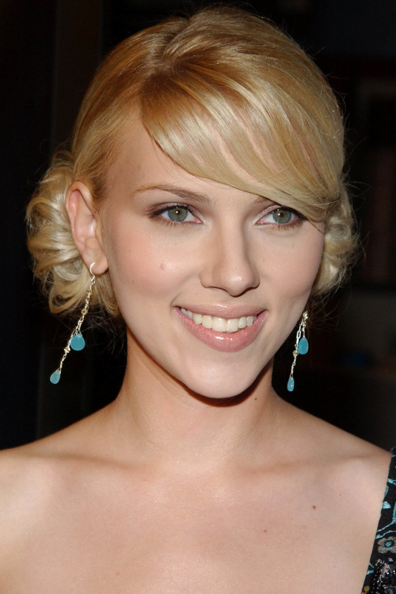 Scarlett Johansson A Love Song for Bobby Long premiere 2004