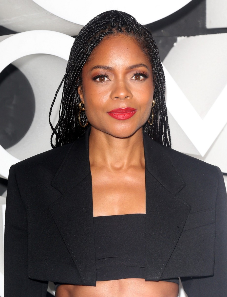 Naomie Harris Nordstrom New York City flagship opening 2019