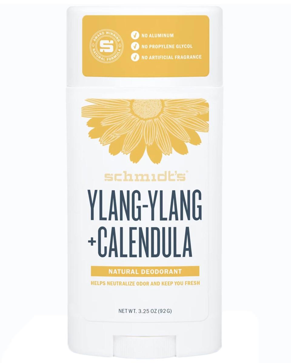 Schmidt's Ylang-Ylang + Calendula Natural Deodorant