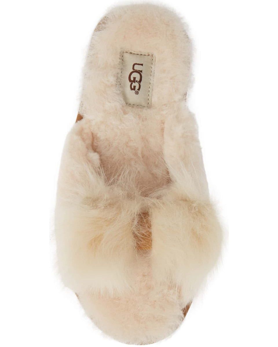 Ugg Mirabelle Genuine Shearling Slide Slipper