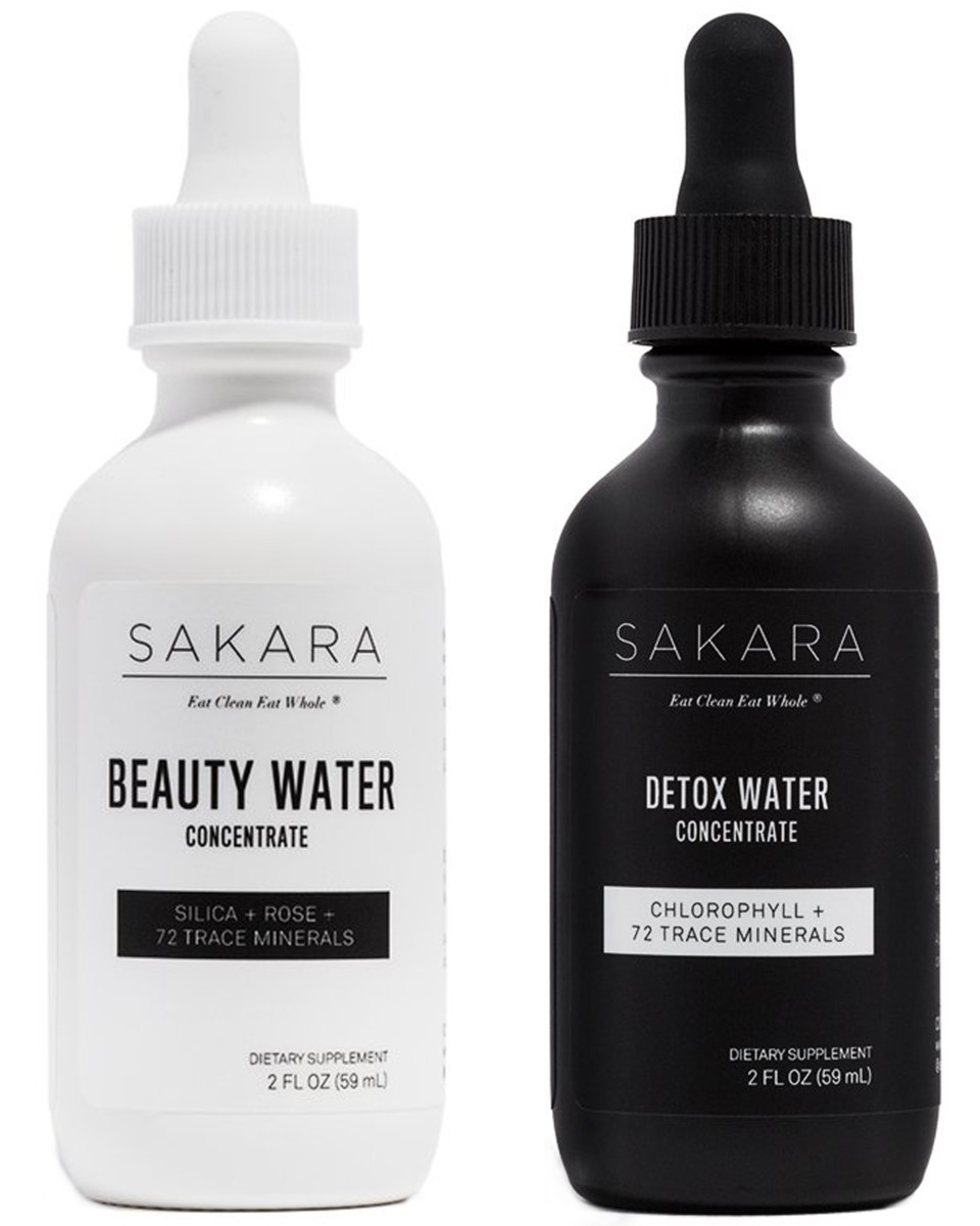 Sakara Beauty Detox Water Concentrates