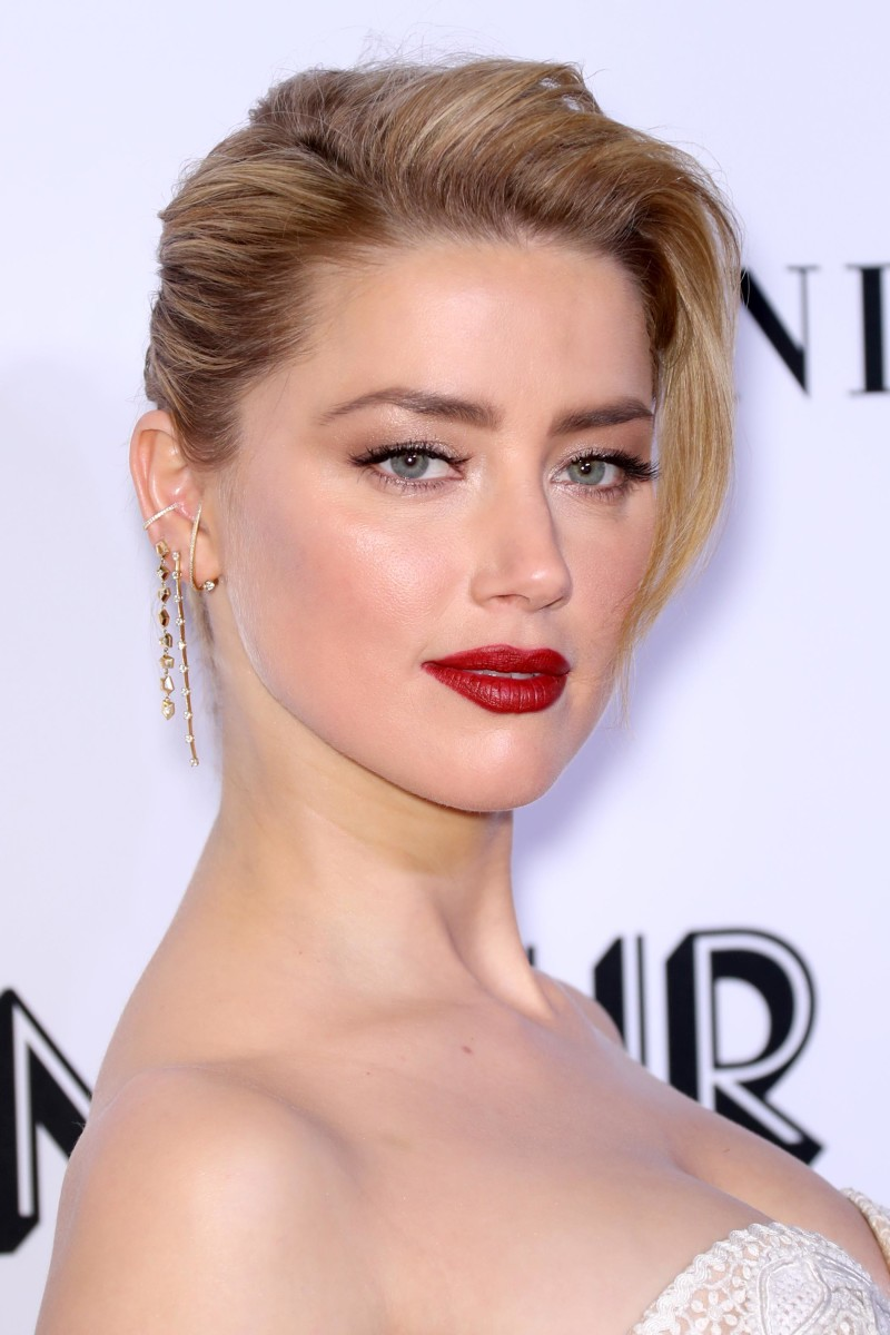 Amber Heard, Glamour Women of the Year Awards, 2018