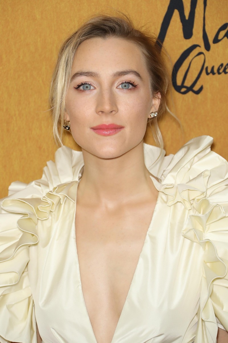 Saoirse Ronan, Mary Queen of Scots New York premiere, 2018