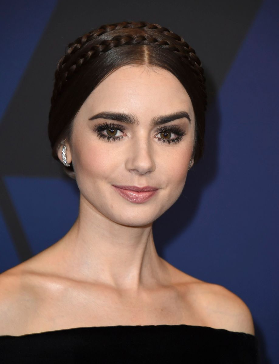 Lily Collins, Governors Awards, 2018