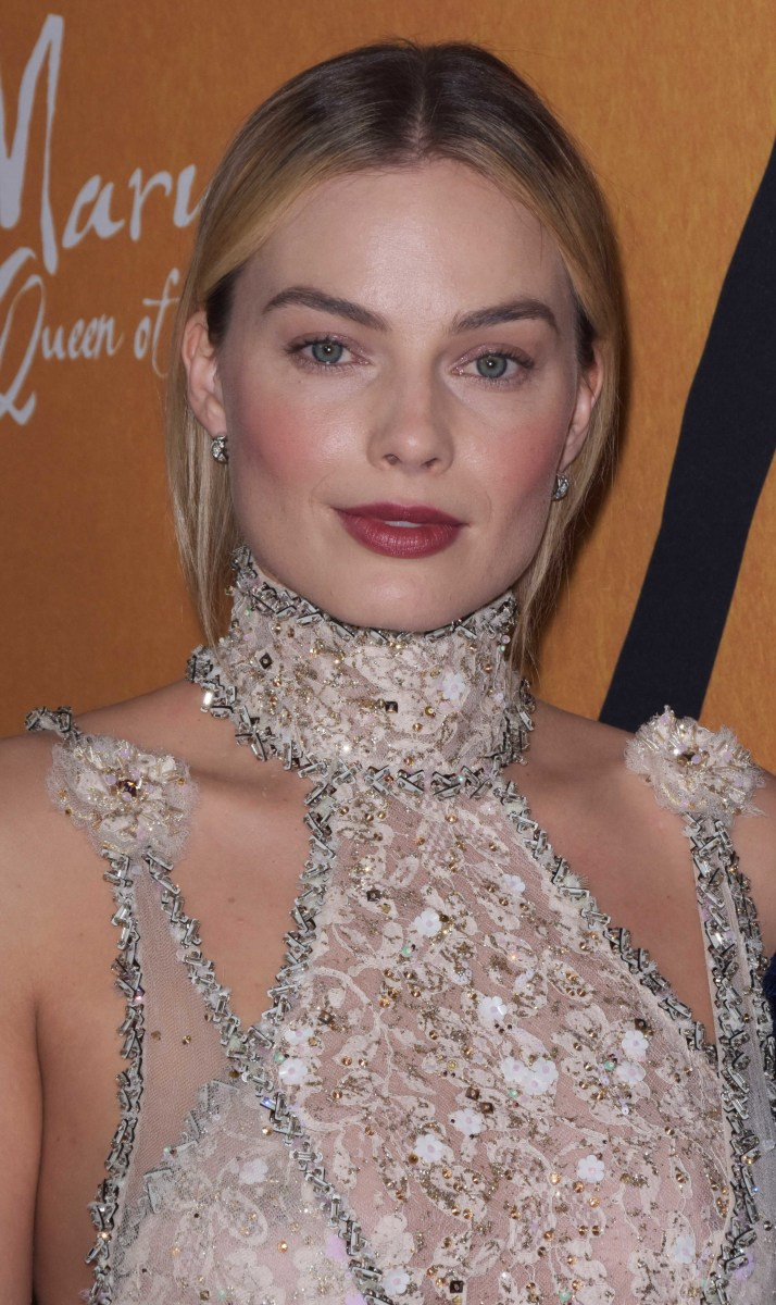 Margot Robbie, Mary Queen of Scots New York premiere, 2018