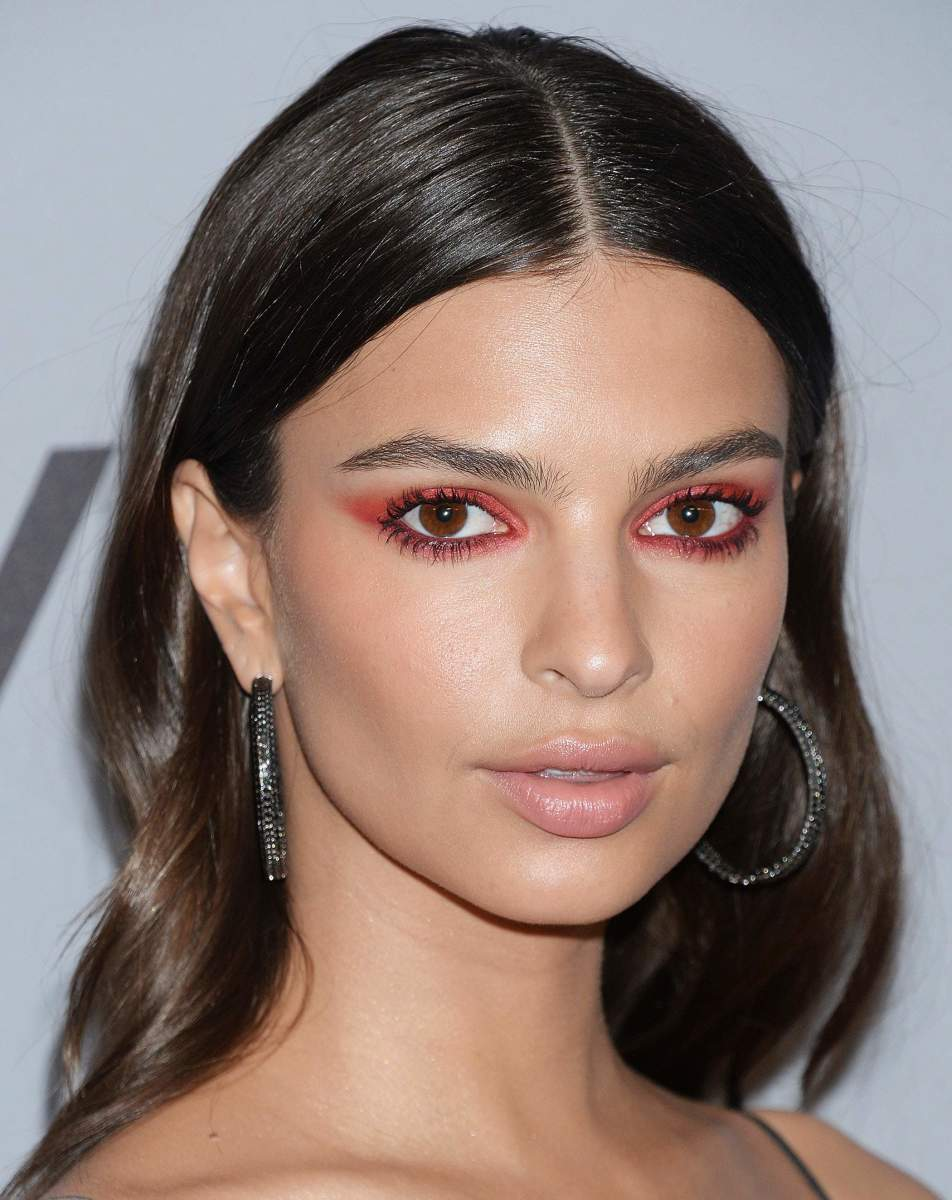 Emily Ratajkowski, InStyle and Warner Bros. Golden Globes after-party, 2018