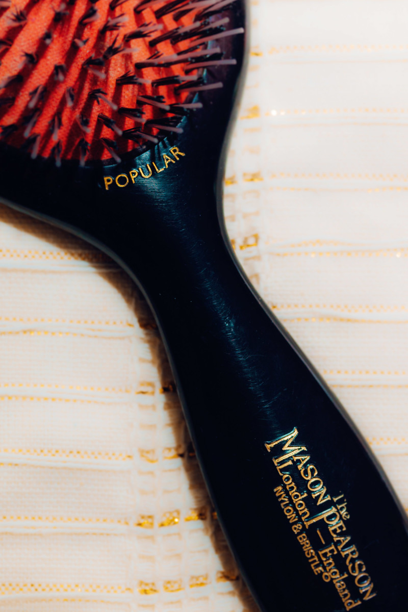 Mason Pearson Popular Mixture Nylon and Boar Bristle Hair Brush