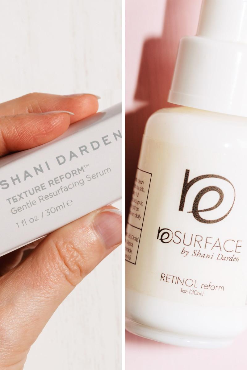 Shani Darden Texture Reform vs. Retinol Reform