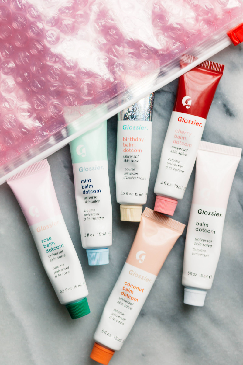 Glossier Balm Dotcom Review Swatches Worth The Hype