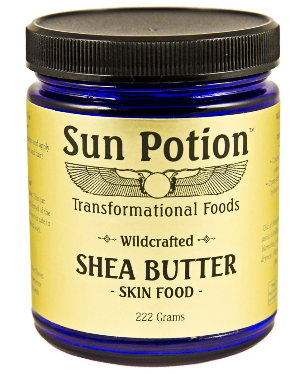 Sun Potion Wildcrafted Shea Butter Skin Food