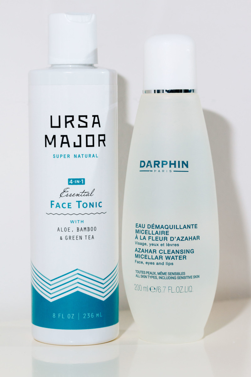 Ursa Major 4-in-1 Essential Face Tonic and Darphin Azahar Cleansing Micellar Water