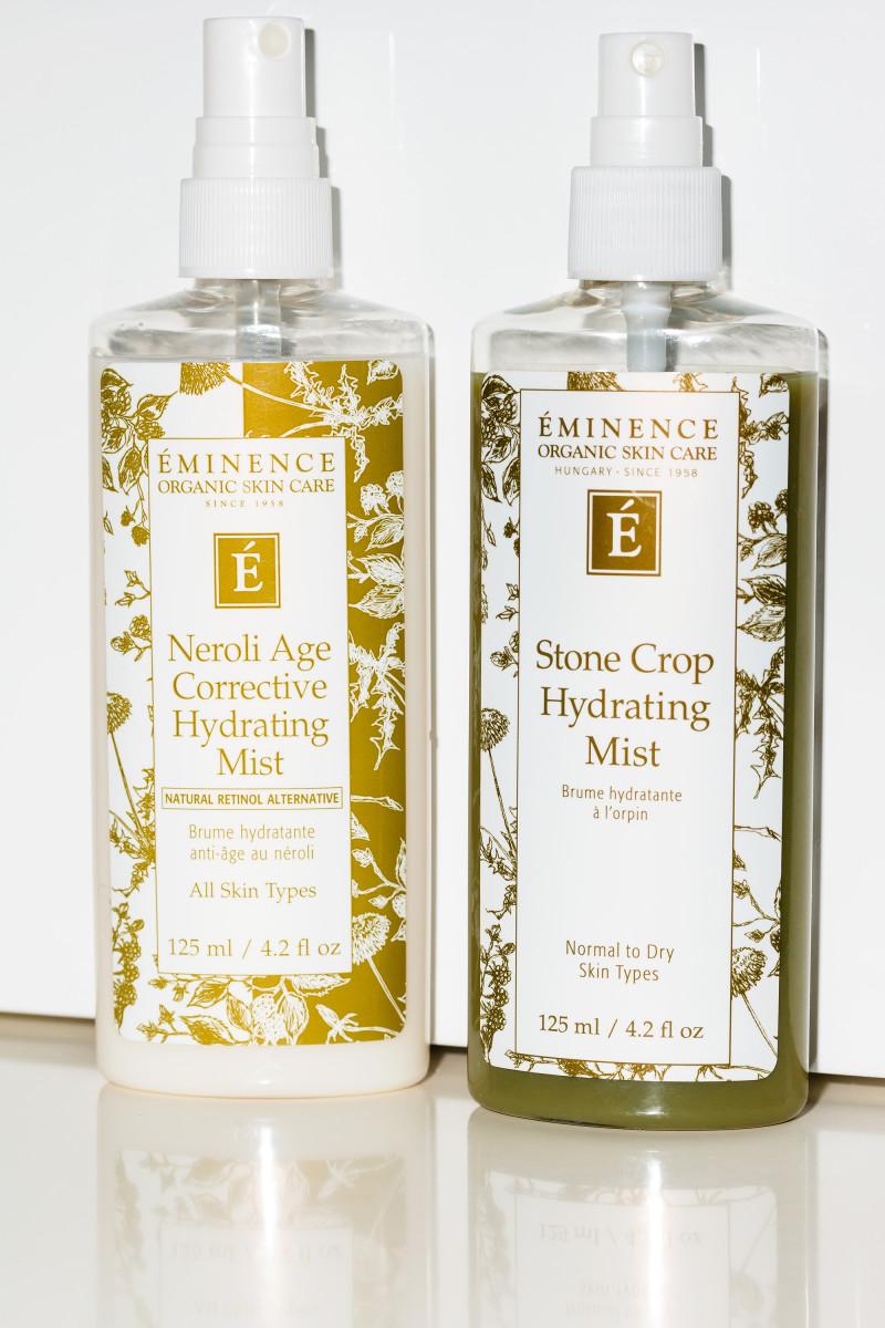 Eminence Neroli Age Corrective Hydrating Mist and Eminence Stone Crop Hydrating Mist