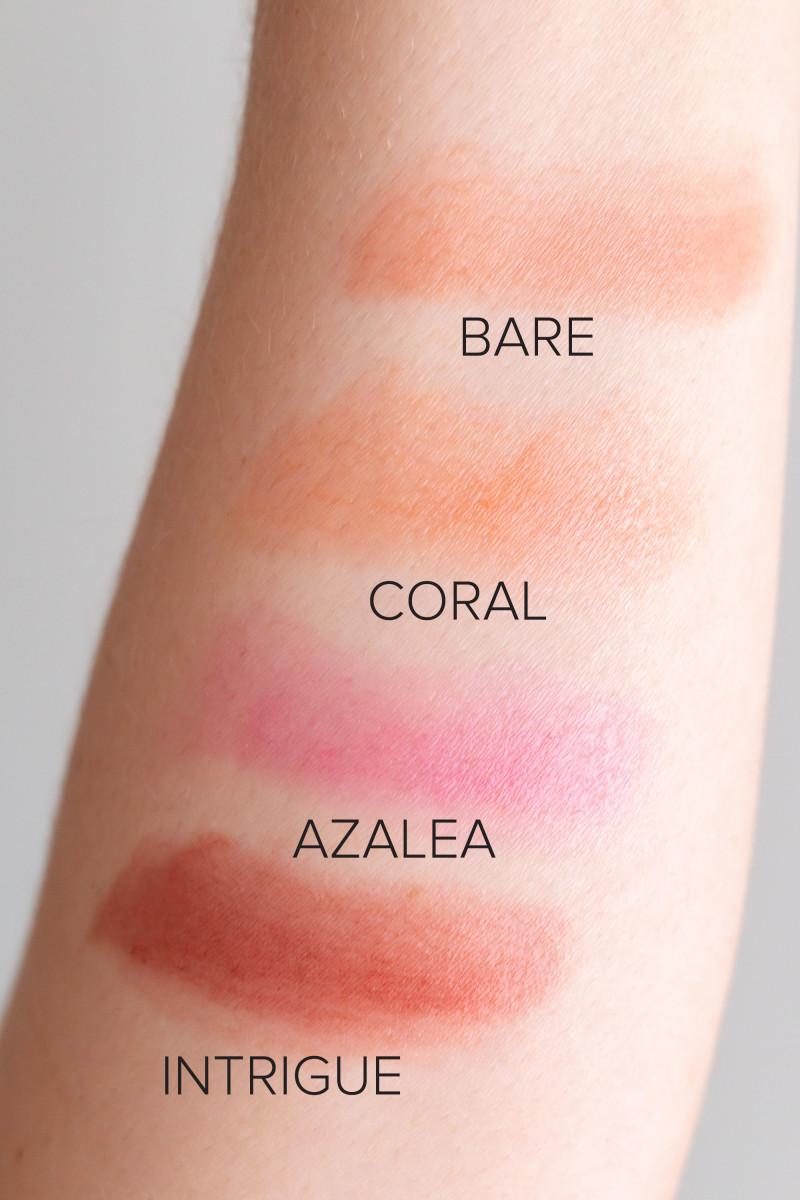 Henne Organics Lip Tint swatches