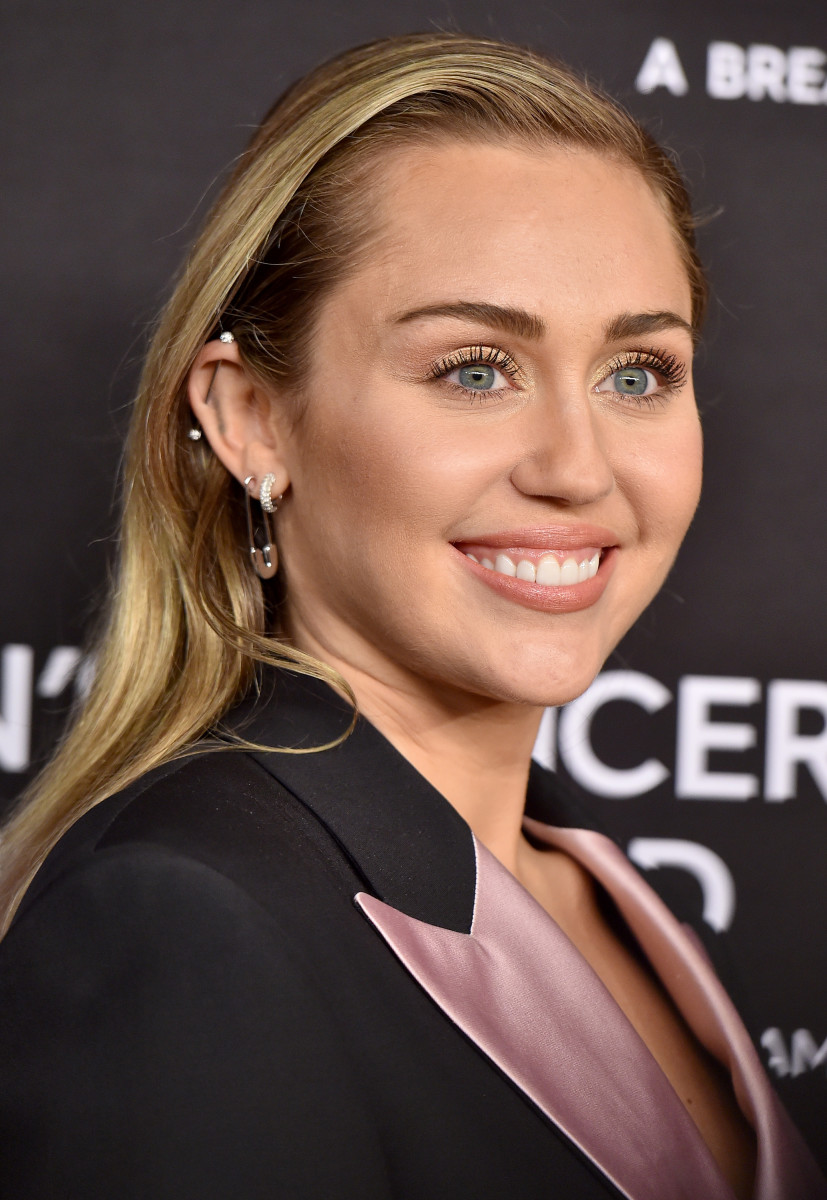 Miley Cyrus, The Women's Cancer Research Fund's An Unforgettable Evening Benefit Gala, 2019
