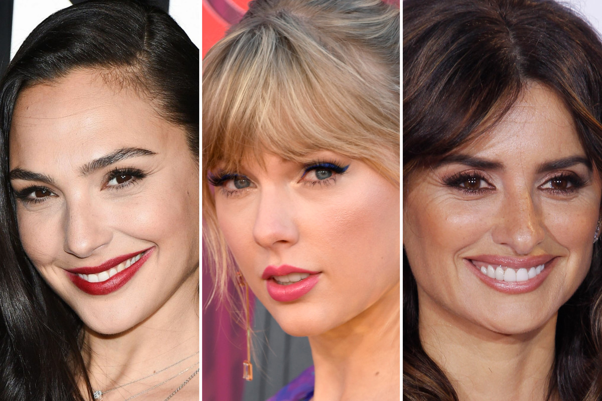Gal Gadot, Taylor Swift, Penelope Cruz