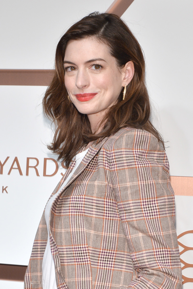 Anne Hathaway, Hudson Yards VIP Grand Opening, 2019