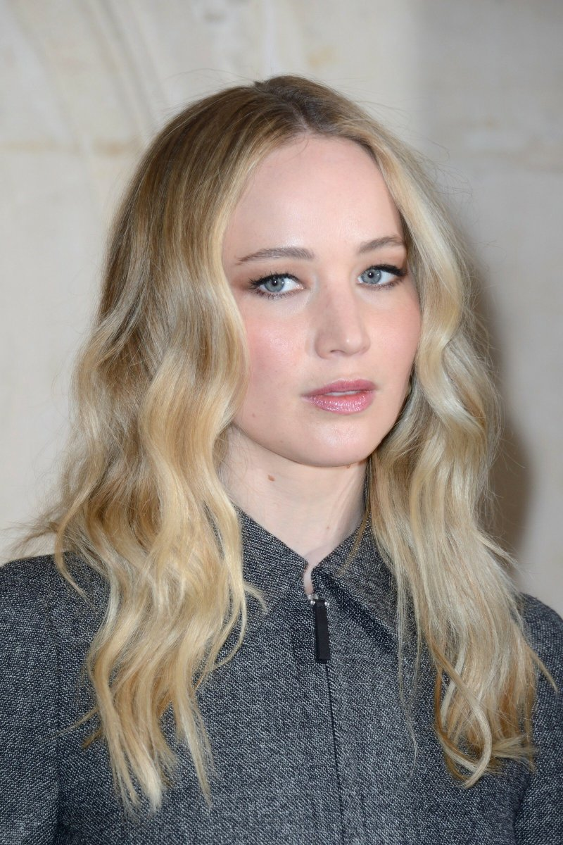 Jennifer Lawrence, Christian Dior show, 2019