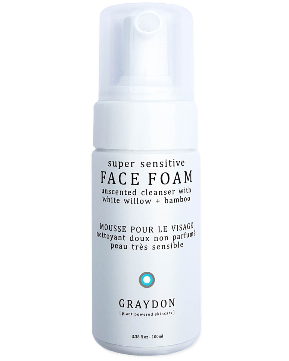 Graydon Super Sensitive Face Foam Unscented Cleanser
