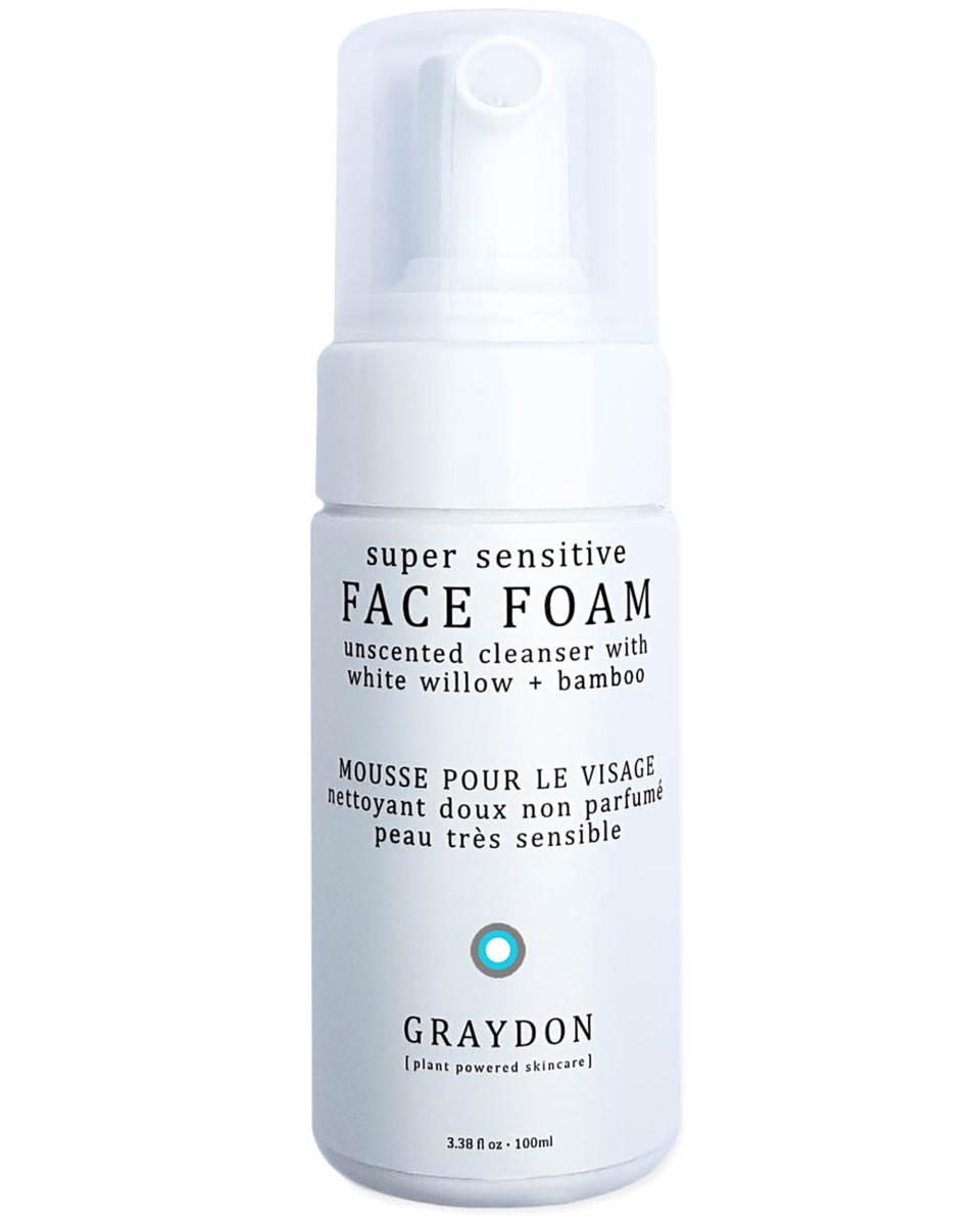 Graydon Super Sensitive Face Foam Unscented Cleanser