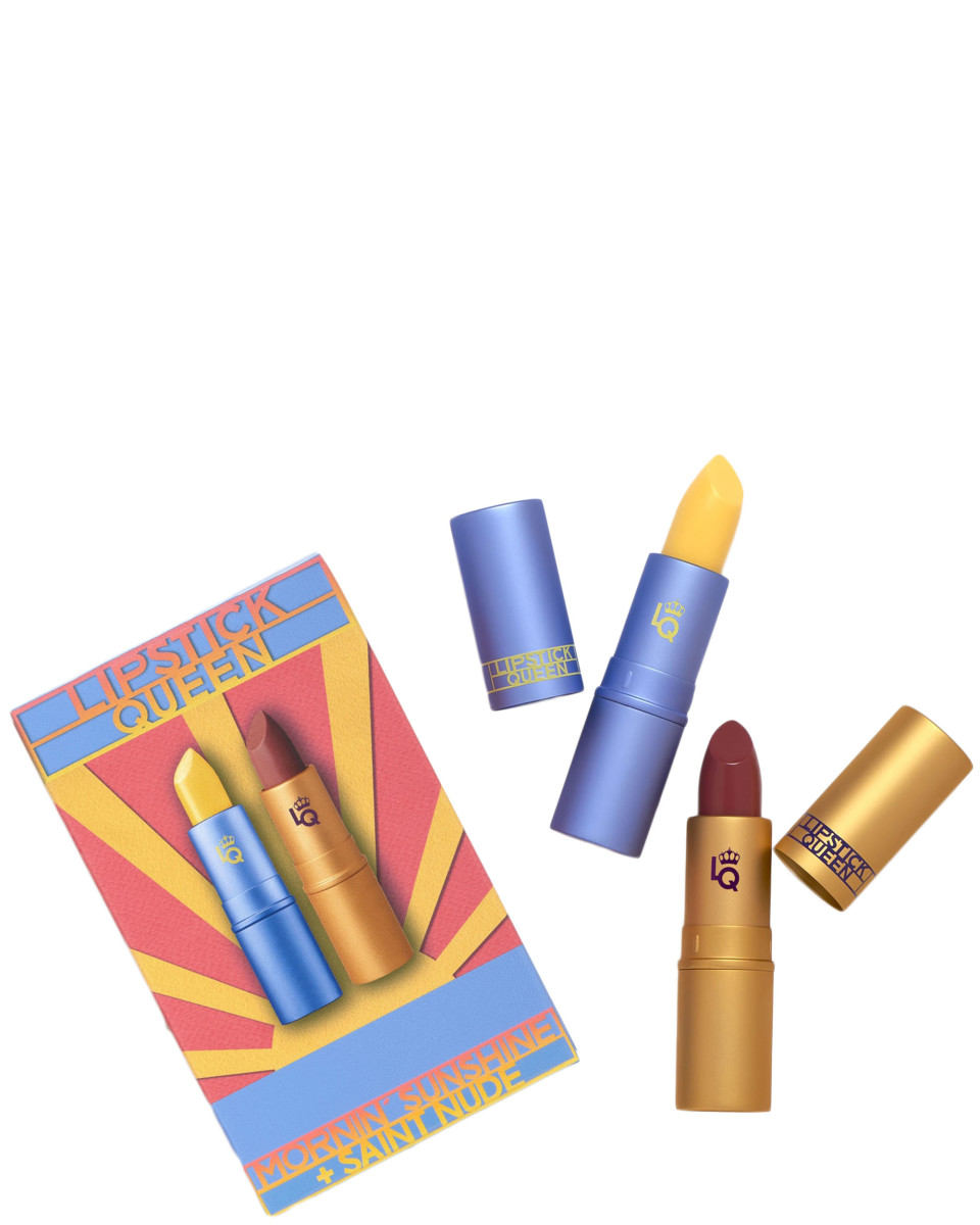 Lipstick Queen Mornin Sunshine and Saint Nude Lipstick Duo