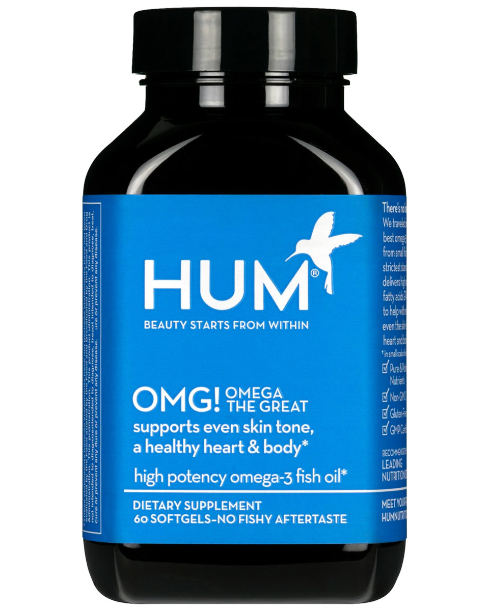 HUM OMG Omega The Great High Potency Omega-3 Fish Oil