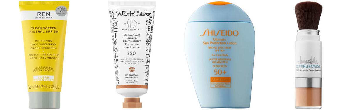 Sephora sunscreens