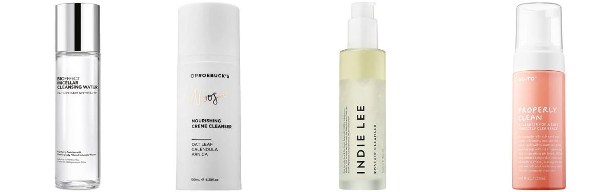 Sephora cleansers and makeup removers
