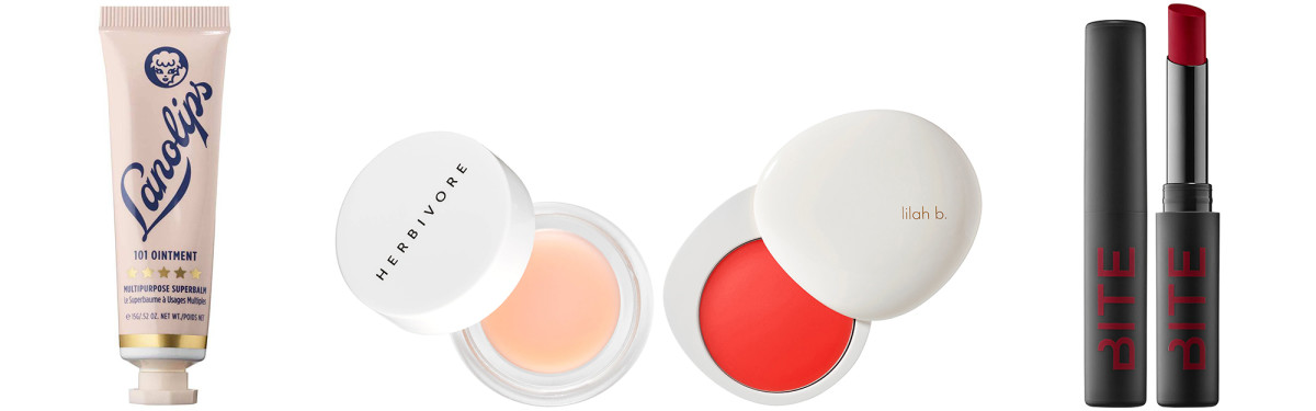 Sephora lip balms and lip colours