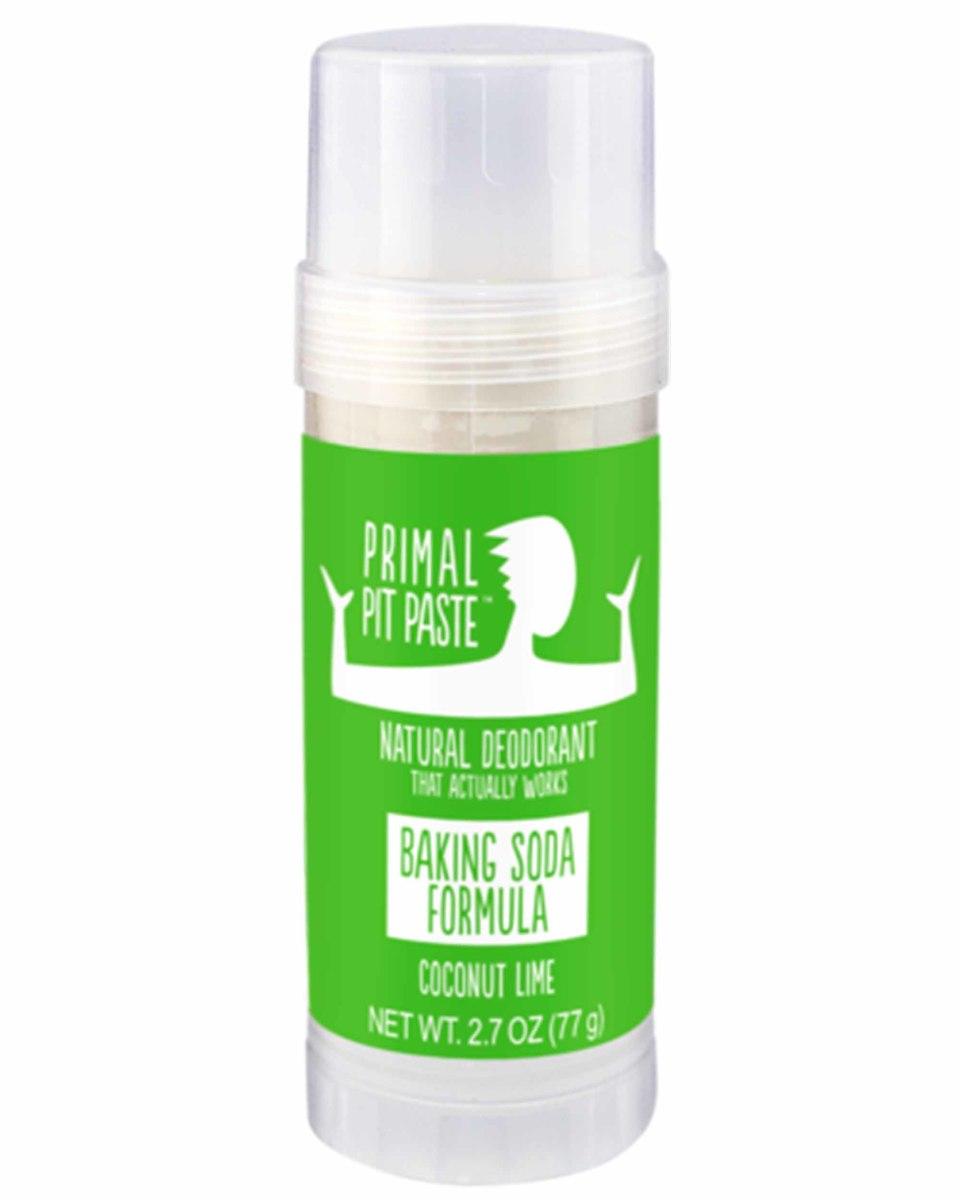 Primal Pit Paste Baking Soda Natural Deodorant Stick