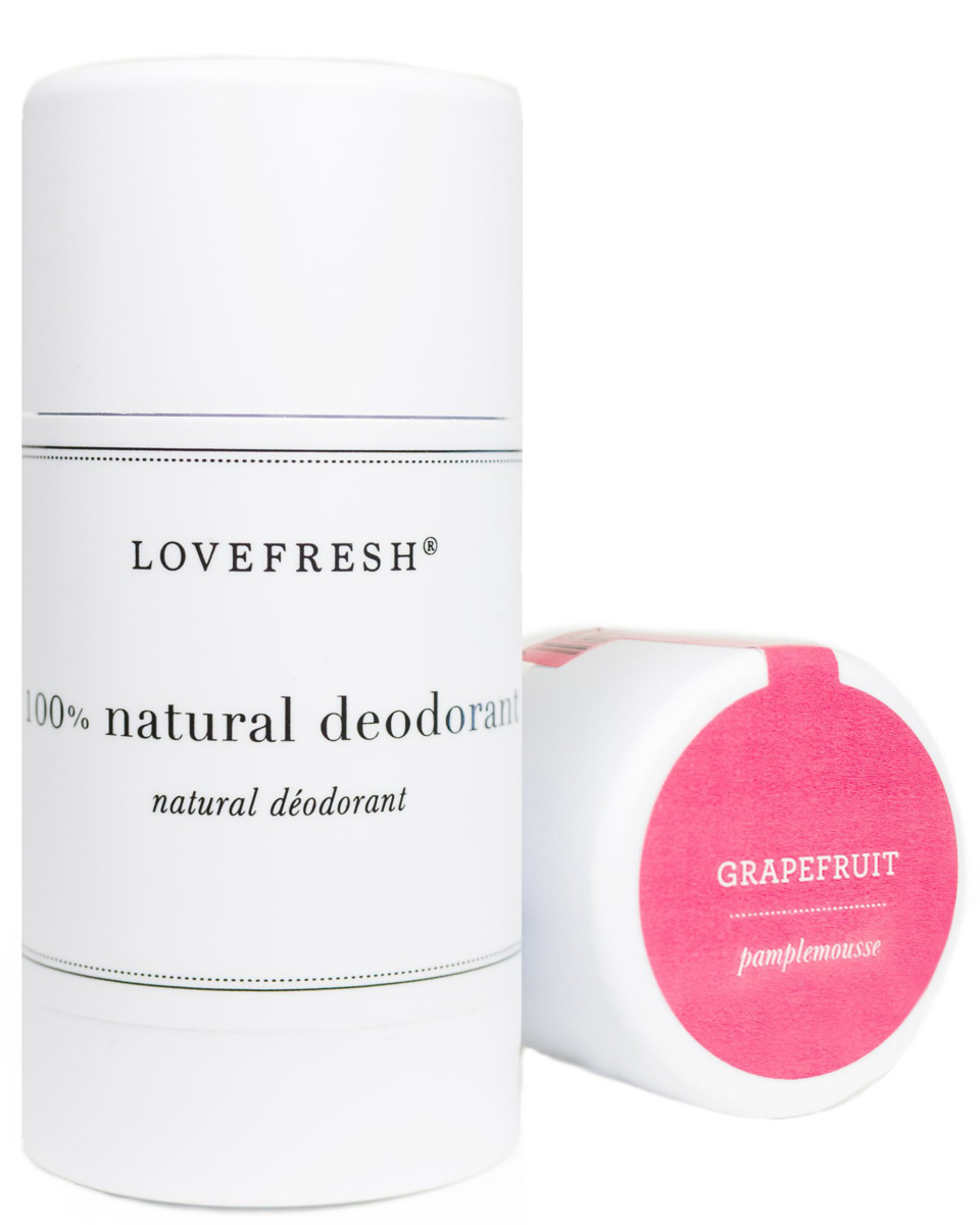 Lovefresh 100 Percent Natural Deodorant