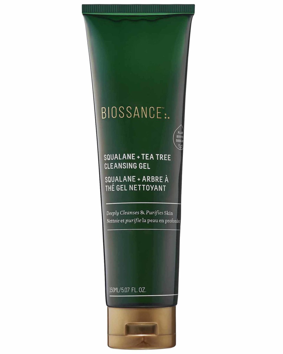 Biossance Squalane Tea Tree Cleansing Gel